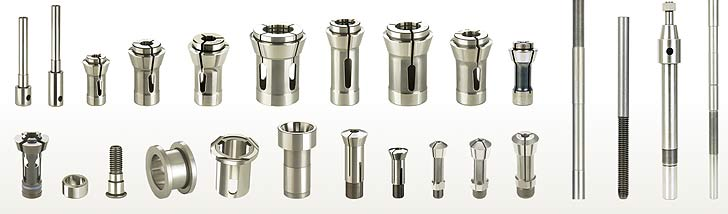 Fitwell Collet Product Range | Manufacturer & Exporter of Traub Collets, Turb Machine Collets, Traub Collets, Trub Collets, Access Button Collet, Dead Length type Collet, Boring Machine Collets in Rajkot Gujarat India. We also manufactures CNC Collets, Milling machine Collets, Diamond Machine Collets, Pantograph Collets, Hydraulic Machine Collets, etc.