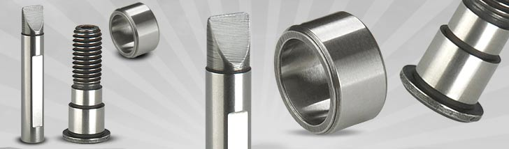 Cam Pin 10/ 12MM, Cam Bolt & Roller | Manufacturer & Exporter of Traub Collets, Turb Machine Collets, Traub Collets, Trub Collets, Access Button Collet, Dead Length type Collet, Boring Machine Collets in Rajkot Gujarat India. We also manufactures CNC Collets, Milling machine Collets, Diamond Machine Collets, Pantograph Collets, Hydraulic Machine Collets, etc.