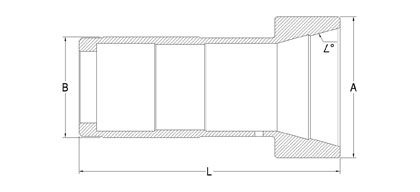 Collets Master Sleeves Technical Drawings | Fitwell Collets